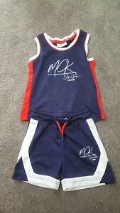 Boys Mckenzie Vest & shorts Age 3-4 Years