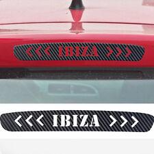 Bremslicht Aufkleber Leiste Carbon Dekor Sticker SEAT IBIZA