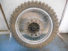 1981 Suzuki RM465X RM 465 X AHRMA Vintage Rear Wheel HUB Rim Tire 18'''