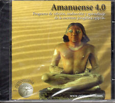 AMANUENSE 4.0 CD-ROM SOFWARE FOR LEARN AND TRASLATE HIEROGLYPHICS - NEW & SEALED