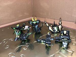 Bakugan Battle Brawlers Dharak Black Darkus Gundalian Invaders Lot Of 6 Brawlers