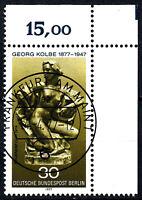 Berlin 543 Vollstempel gestempelt EST Ersttag Gummi Eckrand rechts o. Briefmarke