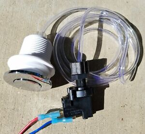 Air Switch for Spa Bullet Subwoofer Push Once-Always ON, Push Again-OFF Arcade