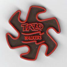 Walkers Crisps Plastic Red & Black Tazo Pog Kini Slammer circa 1995