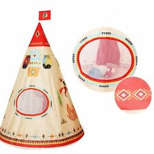 Children's Play Tent Kids Wigwam Indoor Outdoor Camping Game Conical Teepee Tool
