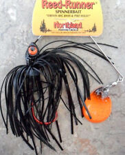 Northland Reed Runner Spinnerbait - 3/8oz - Blackbird, Bass Cod Perch Lure