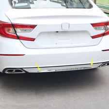 Chrome Rear Bumper Bottom Protector Sill Cover Trim 1pcs for Honda Accord 2018