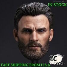 1/6 Chris Evans Captain America Head Sculpt For Hot Toys TBLeague Figure ❶USA❶