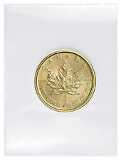 2017 Canada $20 1/2 Oz Gold Maple Leaf (Sealed in Mint Plastic) SKU44196