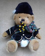 Harrods Knightsbridge Scottish Bagpipes Teddy Bear