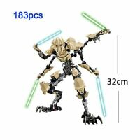 Star Wars Buildable Action Figure Building Block NEW IN STOCK General Grievous