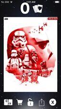 Topps Star Wars Digital Card Trader Red Monochromatic Stormtrooper Insert