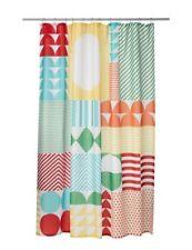 Rideaux de douche multicolore