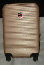 GEOGRAPHYCAL NORWAY VALISE SIPRIANIE CHAMPAGNE EN ABS 22'', 3.4KGS/ 63L MOYEN