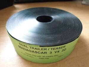 35mm MADAGASCAR 3 trailer. Dreamworks animation (2012). Film cells