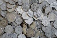 $1 Face Value 90% Silver US Quarters Lot