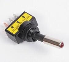 Kippschalter rot 12V / 20A 1-polig beleuchtet LED KFZ Schalter [#1114]