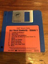 JAZZ VOCAL STANDARDS 10 Midi Files On Disk