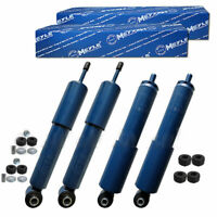 MEYLE Gas 2 Front + 2 Rear Shocks Struts All Fittings for VW T4 Transporter Van