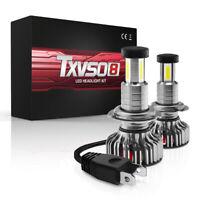 2pcs H7 110W 30000LM Car White LED Headlight Bulb Canbus No Error 6000K Replace