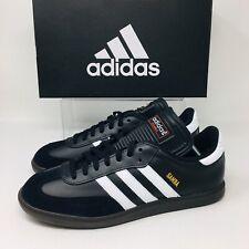 Adidas Originals Samba Classic Men's All Sizes Casual Sneakers Black Gum Shoes