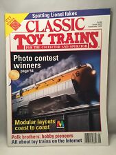 CLASSIC TOY TRAINS September 1996 Issue SPOTTING LIONEL FAKES, PHOTO CONTEST