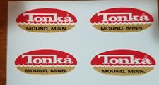 MINI JEEP TONKA TRUCK OVAL LOGO DECALS 1962-1969