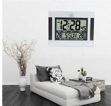 Orologio da Parete Digitale Lcd Grande Numero Grande Tempo Temperatura Cale