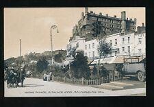 Essex SOUTHEND-ON-SEA Marine Parade Palace Hotel Seaview Cafe c1910s PPC