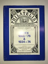 Philately reference. Index to THE PHILATELIST, 1866 - 1876 and 1934 - 1974