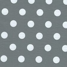 Gray with White Dots Tissue Paper 12 Sheets 50 SqFt Great for Gift Bags