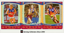 2011 AFL Teamcoach Trading Cards Prize Card Team Set Brisbane (3)