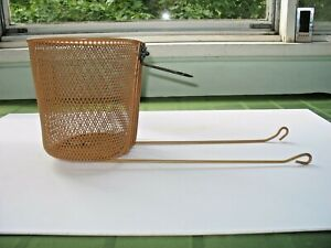 """Metal Bicycle Basket from a Huffy 26"""" Beach Cruiser Bicycle"""