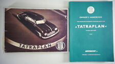 Owner's Manual / Handbook Tatra 600 Tatraplan Streamliner printed 1951