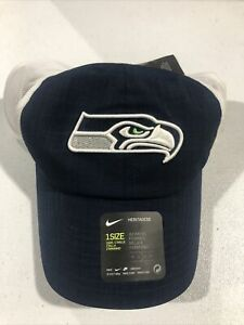 Nike Women's Heritage Seattle Seahawks Adjustable Mesh Hat Cap New