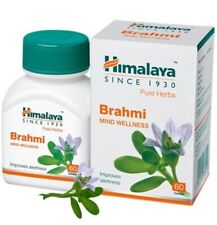 Himalaya Brahmi (Bacopa Monnieri) Mind Wellness 60 Tablets Herbal Product