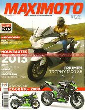 MAXI MOTO 122 MUNCH Mammut TRIUMPH 1200 Trophy BMW S1000 HP4 K1300 KAWASAKI ZZR