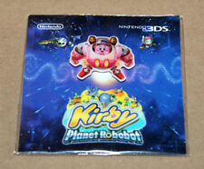 Kirby Planet Robobot Rare Nintendo Promo Pin Not for Sale 3DS
