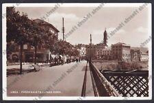 TORINO IVREA 130 Cartolina FOTOGRAFICA viaggiata 1932 REAL PHOTO