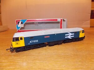 LIMA L205206 CLASS 47 DIESEL LOCO No 47635 JIMMY MILNE BR Blue Livery OO Gauge