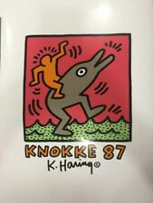 Keith Haring (after) - Exposition Knokke - 1987 Poster