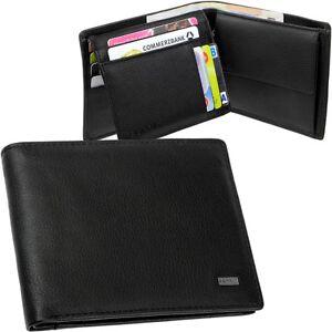 ESPRIT Men's Purse Wallet Purse Briefcase Wallet Black