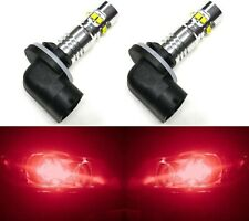 LED 50W 881 H27 Red Two Bulbs Fog Light Replacement Show Use Lamp Off Road