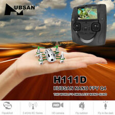 Hubsan FPV RC Qudacopter Drone H111D with 480P HD Camera 2.4G 6Axis LED RTF UK