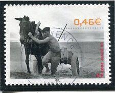 TIMBRE FRANCE OBLITERE N° 3519 PECHEUR DE SABLE /