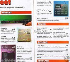 1992 Peavey 580TN Mic, Vestax RMC-88 Mixer, Yamaha P4050 & EMP-700 Tested