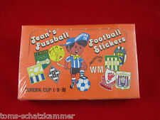 Panini wm 78 Jean 's fútbol sticker 1 box = 100 bolsas jeans WC 1978
