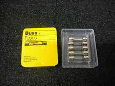 BUSSMANN  250V TIME-DELAY FUSE GLASS TUBE GMD-150MA  5/TRAY **NEW**