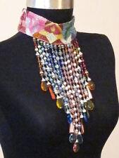 CARLO ZINI FINE RHINESTONE collar necklace chocker - Retails 1,540 EURO!!