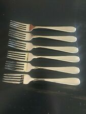 6 ONEIDA FLIGHT DINNER FORKS ONEIDA NEW 18/8 STAINLESS FREE SHIPPING US ONLY